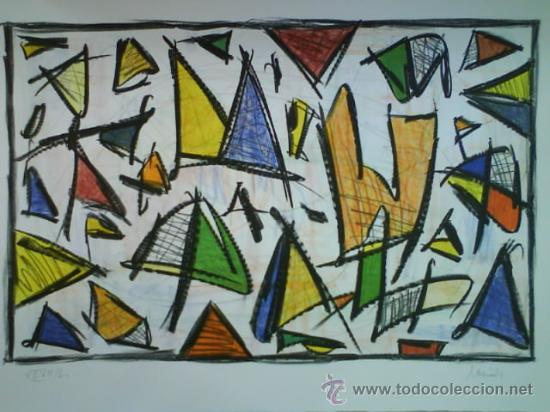 SERGI BARNILS : EXCELENTE LITOGRAFÍA (Arte - Litografías)