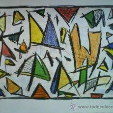 Arte: SERGI BARNILS : EXCELENTE LITOGRAFÍA. Lote 56194454