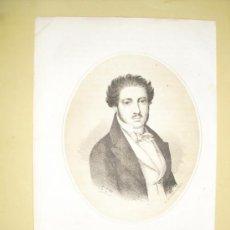 Arte: 1870 LITOGRAFIA DE JOAQUIN Mª LOPEZ. Lote 27194036