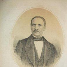 Arte: 1870 LITOGRAFIA DEL GENERAL ESPARTERO REGENTE DEL REINO. Lote 47472923