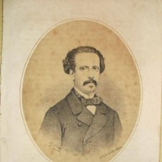 Arte: 1870 LITOGRAFIA DE FRANCISCO ASIS DE BORBON. Lote 27301799