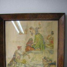 Arte: LITOGRAFÍA DE C. S. DE TEJADA. ESCENA PAYESES. AÑOS 40.. Lote 18458707