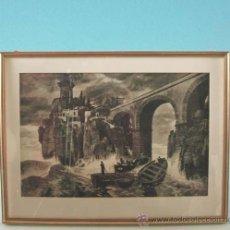 Arte: LITOGRAFÍA, ESCENA MITOLÓGICA, ART NOUVEAU, ALEMANIA 1900 - 1910. Lote 19680942
