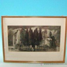 Arte: LITOGRAFÍA, ESCENA MITOLÓGICA, ART NOUVEAU, ALEMANIA 1900 - 1910. Lote 19681023