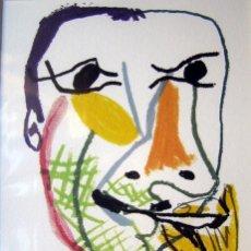 Arte: PICASSO, P. (1881-1973). LITOGRAFIA. ED. LIMITADA. NUMERADA. 1970.. Lote 26743721