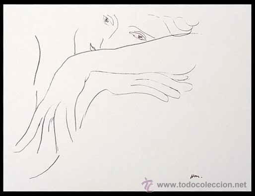 HENRI MATISSE / LA MODELO. LITOGRAFÍA FIRMADA EN LA PLANCHA (Arte - Litografías)