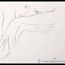 Arte: HENRI MATISSE / LA MODELO. LITOGRAFÍA FIRMADA EN LA PLANCHA. Lote 32426094