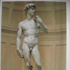 Arte: DAVID DE MIGUEL ANGEL.- MUSEO DE LA ACADEMIA FLORENCIA. Lote 26747504