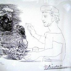 Arte: PICASSO, P. (1881-1973). ILUSTRACION PARA VOLLARD. LIMITADA 1200EJ. NUM 218/1200.. Lote 27534199