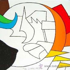Arte: GARDY ARTIGAS / RÉTROVISEUR . LITOGRAFÍA ORIGINAL NUMERADA Y FIRMADA A LÁPIZ EDICIÓN 80 EJEMPLARES. Lote 26873306