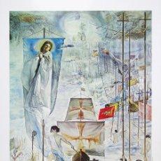 Arte: SALVADOR DALÍ / EL DESCUBRIMIENTO DE AMÉRICA POR CRISTÓBAL COLÓN. CUATRICOMÍA. Lote 27244214