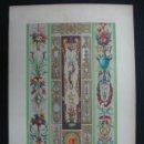 Arte: LITOGRAFÍA. DECORACIÓN. SIGLO XVIII. (LITH. PAR LAUNAY). 40 X 27 CM. . Lote 23433784