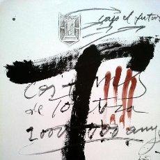 Arte: TAPIES, A. (1923-2012). BIMILLENARI TORTOSA. 1985. F-H Nº160.. Lote 27023799