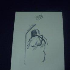 Arte: LITOGRAFÍA JOAN CARDELLS NUMERADA A LÁPIZ.FIRMADA EN PLANCHA.CERTIFICADO. A ESTRENAR. Lote 27394719
