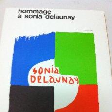 Arte: SONIA DELAUNAY, LITOGRAFIA -CARTEL ORIGINAL. Lote 26465809