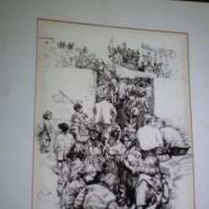 Arte: LITOGRAFIA NUMERADA Y FIRMADA DE ANTONIO ZARCO. 240/250 36X52 CMS. Lote 26502437