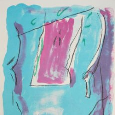 Arte: ALBERT RÀFOLS-CASAMADA / PARC 4 LITOGRAFÍA ORIGINAL NUMERADA 34 / 75 Y FECHADA 88 Y FIRMADA A LÁPIZ. Lote 243865945