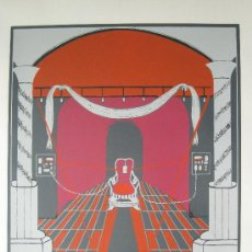 Arte: AMALIA RIERA -LITOGRAFIA DE 1975 - ARTISTA CATALANA. Lote 27427190