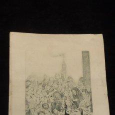 Arte: LITOGRAFIA DE RAMON DE CAPMANY. FIRMADO A LAPIZ POR EL AUTOR. ORIGINAL. . Lote 28297980