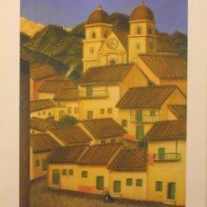 Arte: FERNANDO BOTERO / LA CIUDAD . LITOGRAFÍA FIRMADA Y FECHADA EN LA PLANCHA. A ESTRENAR.. Lote 28513126