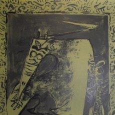Arte: WILFREDO LAM / FIGURA VERDE LITOGRAFÍA ORIGINAL FIRMADA Y NUMERADA A LÁPIZ E .A. ÉPROUVE D´ARTISTE. Lote 28948345