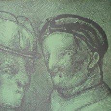 Arte: JOSÉ LUIS CUEVAS / JOAN PRATS 1982. LITOGRAFÍA ORIGINAL NUMERADA FECHADA 1991 Y FIRMADA A LÁPIZ. Lote 29781719
