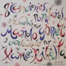 Arte: RAFAEL ALBERTI, FIRMADA Y NUMERADA A LÁPIZ. Lote 29790813