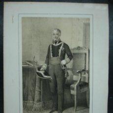 Arte - MILITAR. ESTADO MAYOR DEL EJERCITO ESPAÑOL. FRANCISCO MANUEL DE VILLENA. 45 X 31 CM. - 30107454