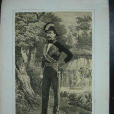 Arte: MILITAR. ESTADO MAYOR DEL EJERCITO ESPAÑOL. MANUEL PAVÍA. MARQUÉS DE NOVALICHES. 45 X 31 CM.. Lote 30107534