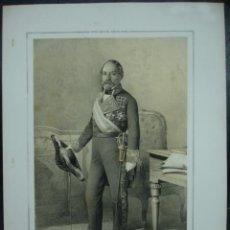 Arte: MILITAR. ESTADO MAYOR DEL EJERCITO ESPAÑOL. ANTONIO FALCON. 45 X 32 CM.. Lote 30107754