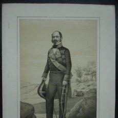 Arte: MILITAR. ESTADO MAYOR DEL EJERCITO ESPAÑOL. RICARDO SHELLY. 45 X 32 CM.. Lote 30108178