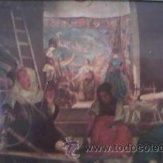 Arte: LAS HILANDERAS DE VELAZQUEZ LITOGRAFÍA ENMARCADA.DE LOS 50/ 60.. Lote 30131188