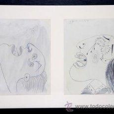 Arte: PICASSO / ESTUDIOS PARA EL GUERNICA .MUJERES ATERRORIZADAS .ENMARCADO .FECHADOS .EDICIÓN 6000 EJEMPL. Lote 30216854