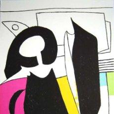 Arte: GARDY ARTIGAS CORRIDA DE TOROS LITOGRAFÍA NUMERADA Y FIRMADA A LÁPIZ 80 EJEMPLARES GRAN TAMAÑO. Lote 31005651