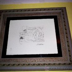 Arte: LITOGRAFIA PICASSO (SUITE VOLLARD) FIRMADA EN PLANCHA Y NUMERADA**TIRADA 1.200 ..*SIN MARCO. Lote 121676375
