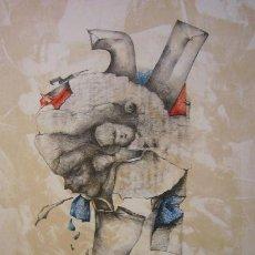 Arte: MODEST CUIXART . LITOGRAFÍA ORIGINAL NUMERADA H.C. 2 / 15 Y FIRMADA A LÁPIZ ..* BUEN TAMAÑO *. Lote 32036089
