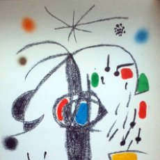 Arte: MIRO, J (1893-1983). LITOGRAFIA SERIE MARAVILLAS. AÑO 1975. MOURLOT 1071.. Lote 32241807