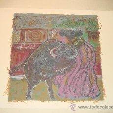 "Arte: ALBERTO GIRONELLA, MÉXICO, 1929-1999, ""OLE"" LITOGRAFIA XV/XX. FIRMADA Y FECHADA POR EL ARTISTA.. Lote 33418424"