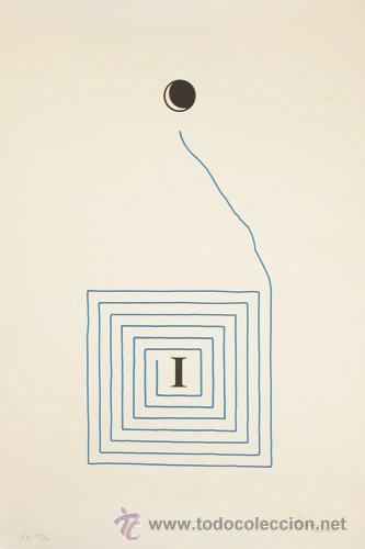 LITOGRAFÍA DE JOAN BROSSA (BARCELONA, 1919) (Arte - Litografías)