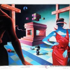 Arte: VIDAL JIMENEZ 1948.- CARPETA TIULADA -LAS CUATRO ESTACIONES- CON 4 LITOGRAFÍAS REPROD. DE LAS OBRAS . Lote 33608662