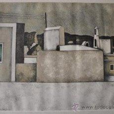 Arte: LITOGRAFIA FIRMADA Y NUMERADA. Lote 34182358