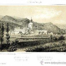 Arte: AZPEITIA. SAN IGNACIO DE LOYOLA. LITOGRAFÍA ORIGINAL, HACIA 1840. Lote 34133304