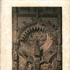 Arte: LITOGRAFÍA *DETALLES Nº 2 DE LA YGLESIA DE SN. PABLO, (VALLADOLID)*. DE PARCERISA. AÑO 1861. Lote 34470380