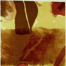 Arte: JOSEP GUINOVART LITOGRAFIA 54,5X78CM FIRMADA Y NUMERADA (117/350). Lote 34973845