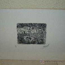 Arte: LITOGRAFÍA - FIRMA ILEGIBLE - ABSTRACTO.. Lote 35067679