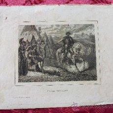 Arte: LITOGRAFÍA S. XIX CESAR VENCEDOR, DE J. VÁZQUEZ. CIUDAD.. Lote 36462400