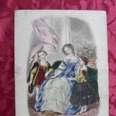 Arte: LITOGRAFÍA S. XVIII, LE FOLLET.. Lote 36462539