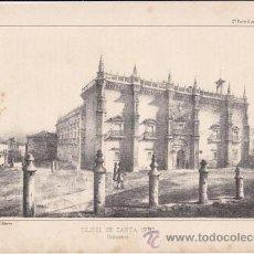 Arte: LÁMINA: COLEGIO DE SANTA CRUZ - VALLADOLID - 1884. Lote 36967686
