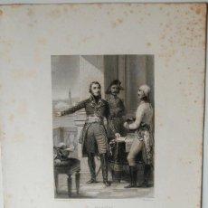 Arte: GRABADO DEL SIGLO XIX DEL MILITAR FRANCES, ANDRE MASSÉNA (GEOFFROY SCULPIT) . Lote 37318457
