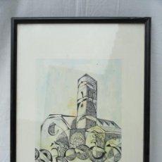 Arte: LITOGRAFÍA ENMARCADA ANTONI MAS CASTELLOT, MAYO 1980. NUMERADA Y FIRMADA.. Lote 37552771